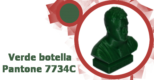 PLA Color Verde botella marca BQ