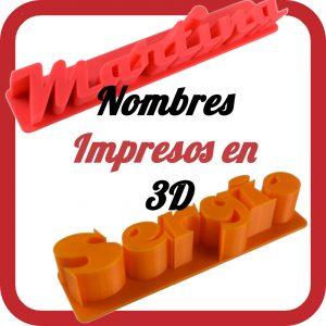 Nombres 3D