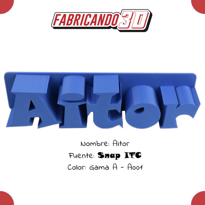 Aitor - 90 - Snap ITC - Tienda