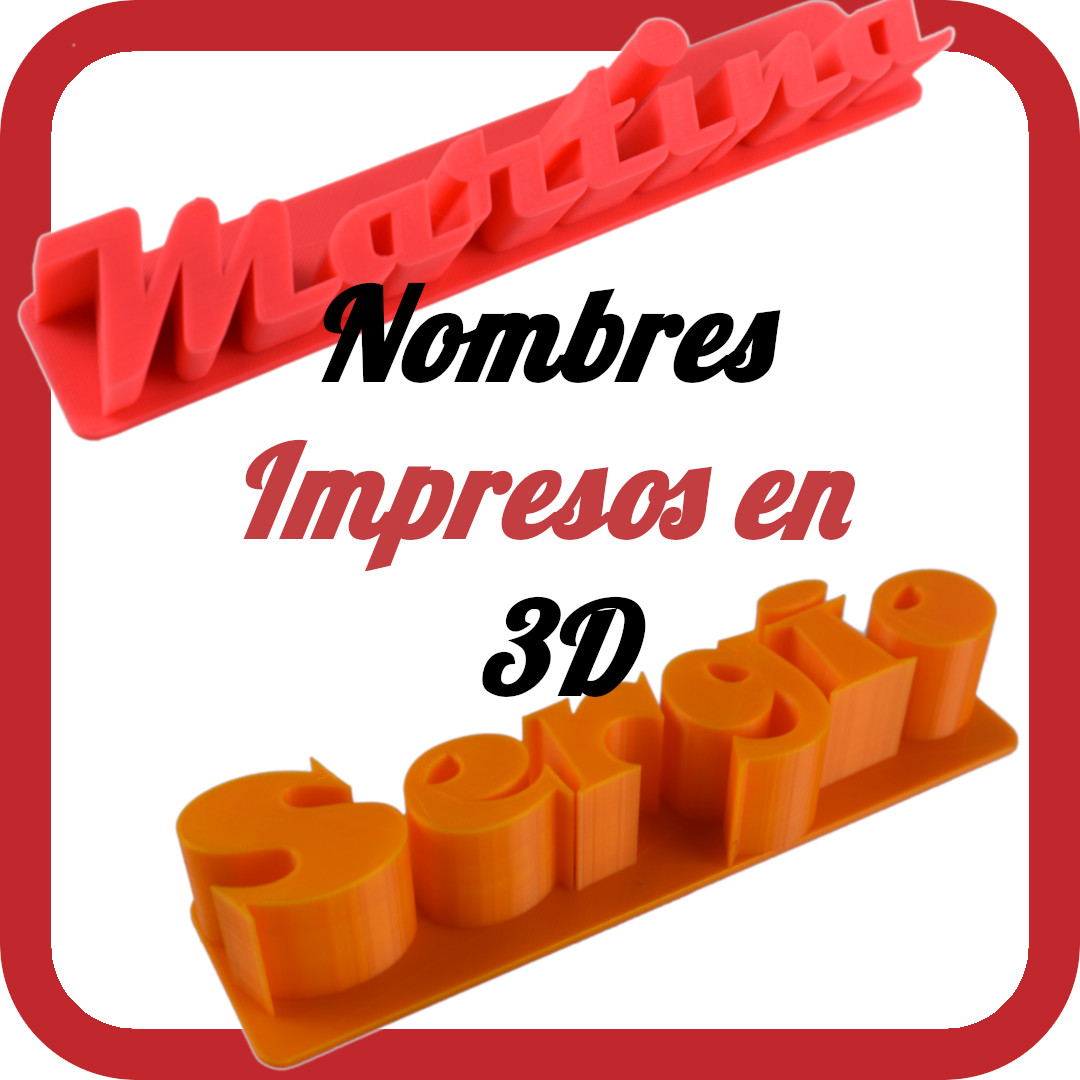 Videos Nombres 3D – Youtube