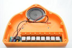 Piano electrónico DIY Kit hazlo tú mismo