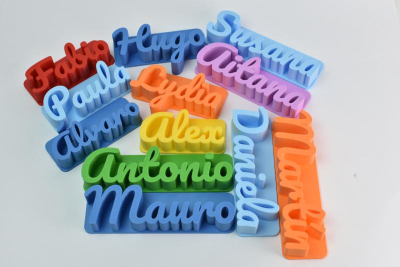 """Nueva categoría """"Nombres impresos en 3D con Imán"""""""