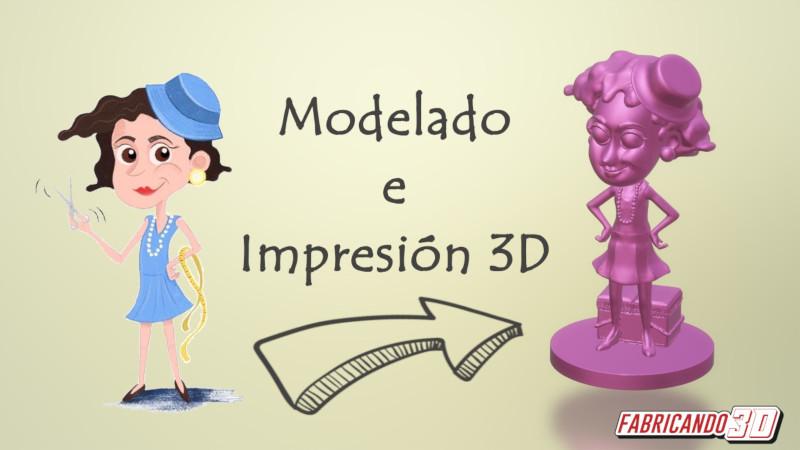 Modelado e Impresión 3D – Coco Chanel