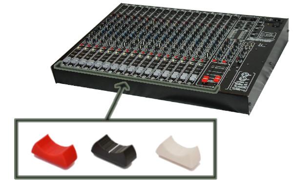 Faders mesa mezclas Studiomaster Session Mix 16-2 - Fabricando3D - 000